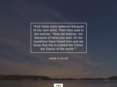 Word For Faith &#8211&#x3B; September 18, 2018